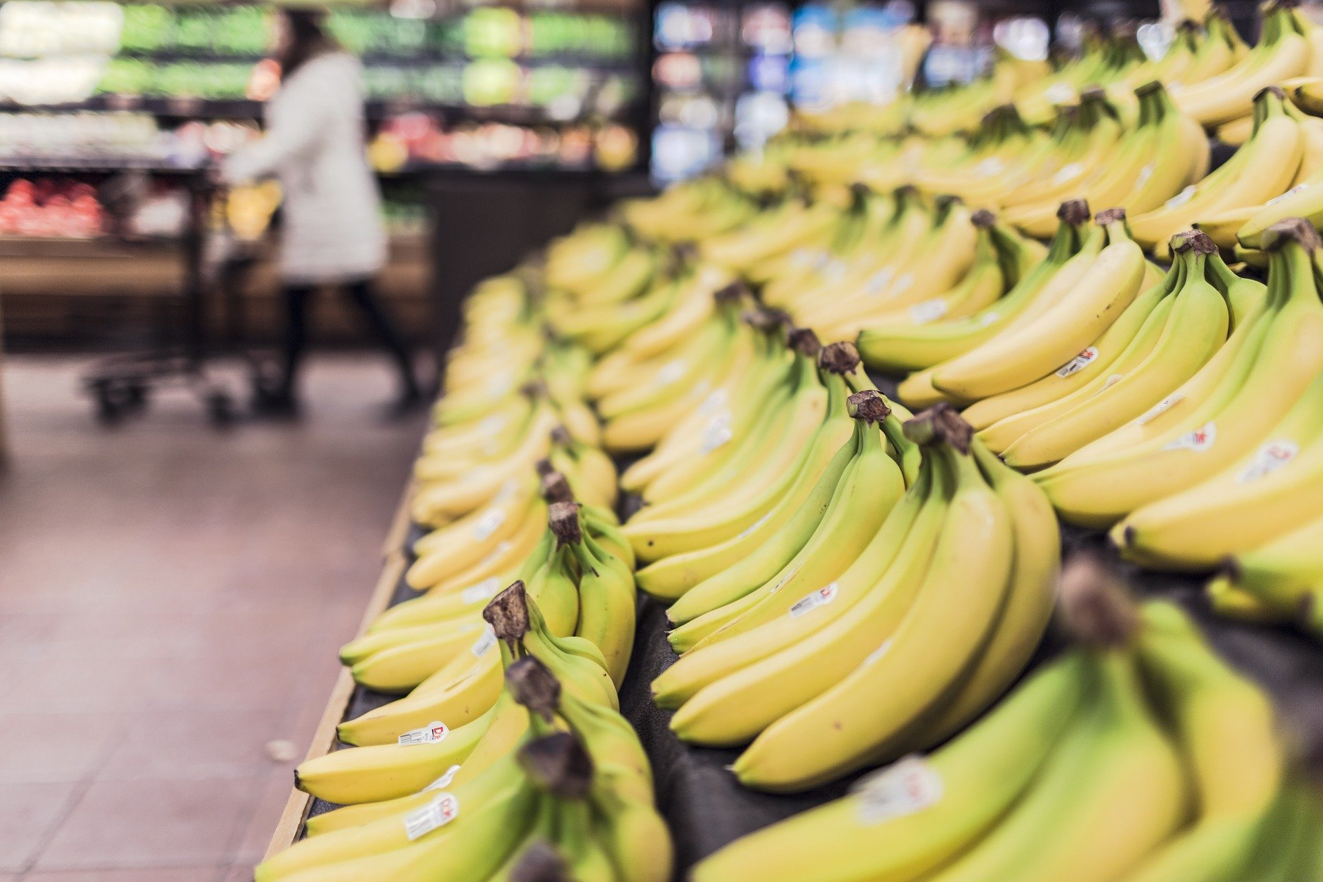 Bananas at grocery store | The Refinery
